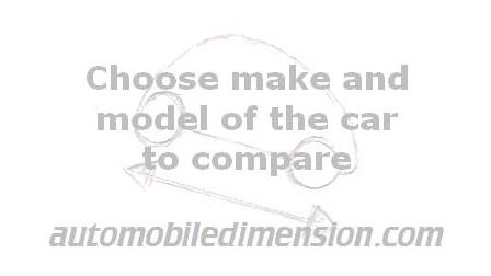 Car size comparison  Choose make and model to compare