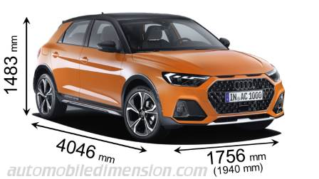 Audi A1 Citycarver 2020 Dimensions Boot Space And Interior