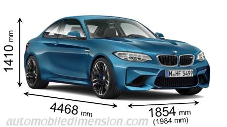 BMW M2 Coupé dimensions