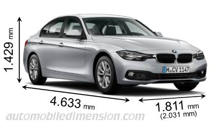 BMW Série 3 Berline  dimensions