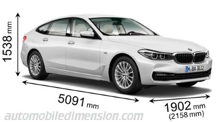 bmw 5 series 2012 dimensions
