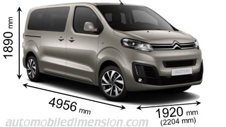 Citroen SpaceTourer M 2016