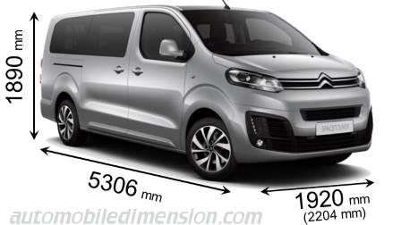 Citroen SpaceTourer XL 2016