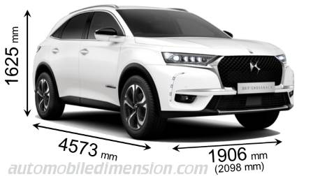 DS DS7 Crossback dimensions
