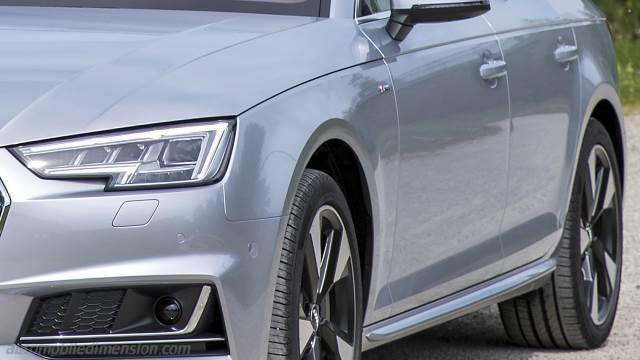Audi A4 Avant 2016 Dimensions Boot Space And Interior