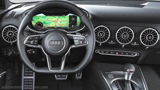 audi tt coupe 2019 dimensions  boot space and interior