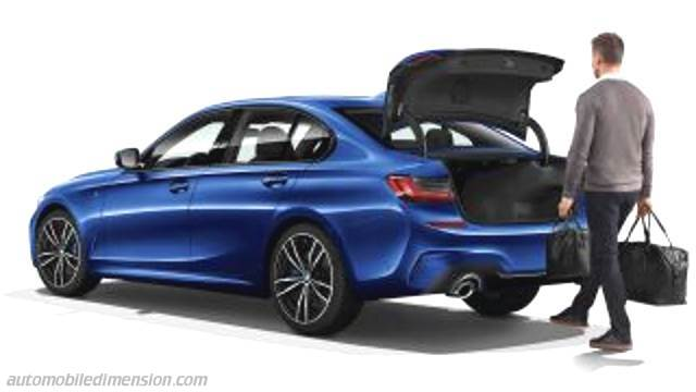 Bmw 3 2019 Dimensions Boot Space And Interior