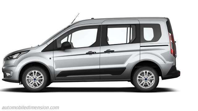 Ford Tourneo Connect Dimensions Boot Space And Interior