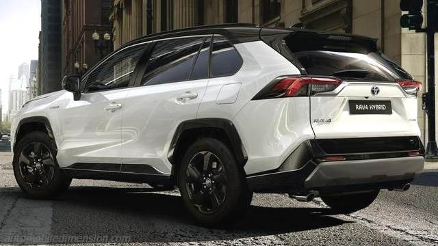 Toyota Rav4 2019 Dimensions Boot Space And Interior