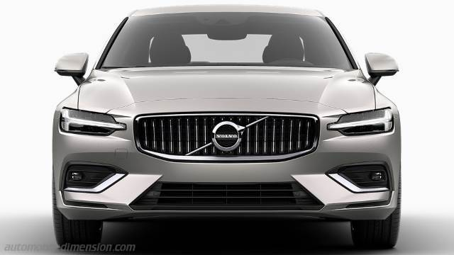 Volvo S60 2019 dimensions, boot space and interior