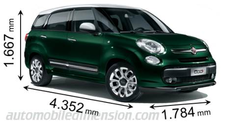 dimensions on fiat 500x 2017 2018 best cars reviews. Black Bedroom Furniture Sets. Home Design Ideas
