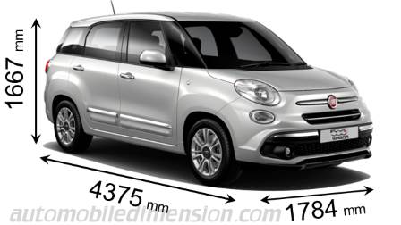 fiat 500l interior dimensions. Black Bedroom Furniture Sets. Home Design Ideas