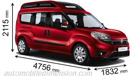 Fiat Dobl 242 Maxi Xl 2015 Dimensions Boot Space And Interior