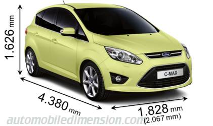 Dimension Ford C-MAX 2011