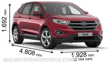 Ford Edge Dimensions And Boot Space
