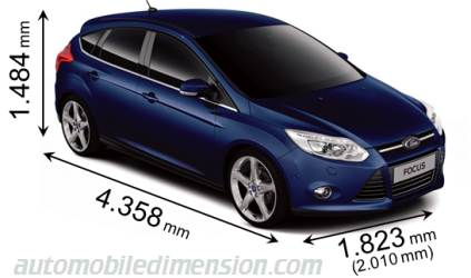Dimension Ford Focus 2011