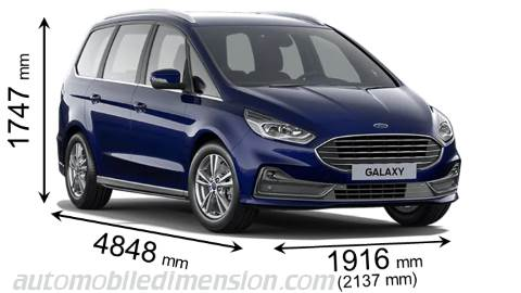 Dimension Ford Galaxy 2020