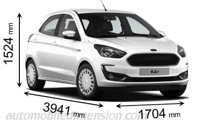 Ford Ka Dimensions See Interior