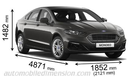 Dimension Ford Mondeo 2019