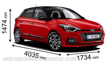 hyundai i20 2018 dimensions boot space and interior. Black Bedroom Furniture Sets. Home Design Ideas