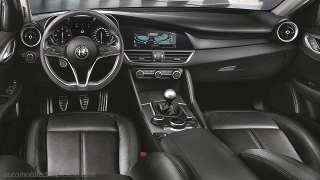 Attractive Alfa Romeo Giulia 2016 Dashboard Zoom