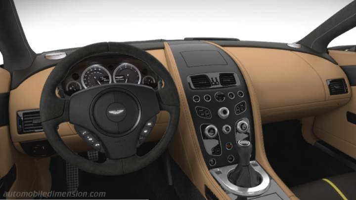 Aston Martin V12 Vantage S 2013 Dimensions Boot Space And
