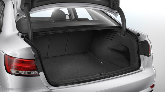audi a4 2016 dimensions boot space and interior. Black Bedroom Furniture Sets. Home Design Ideas