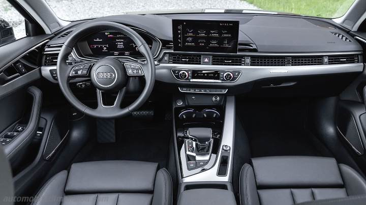 Audi A4 2020 dimensions, boot space and interior