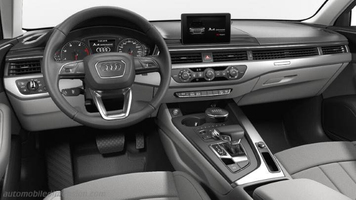 dimensions audi a4 allroad quattro 2016 coffre et int rieur. Black Bedroom Furniture Sets. Home Design Ideas