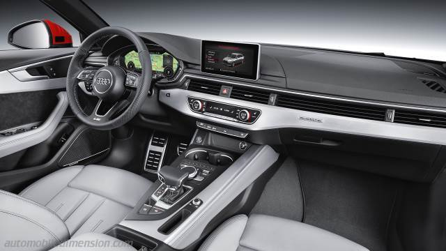 Audi A4 Avant 2016 Dashboard Zoom