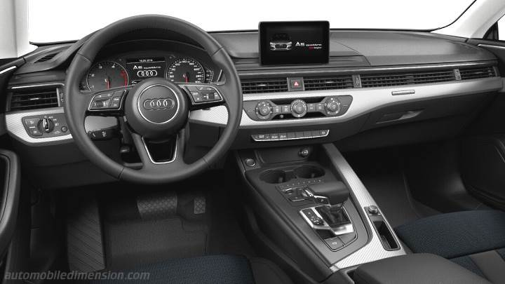 Audi A5 Coupe 2016 dashboard