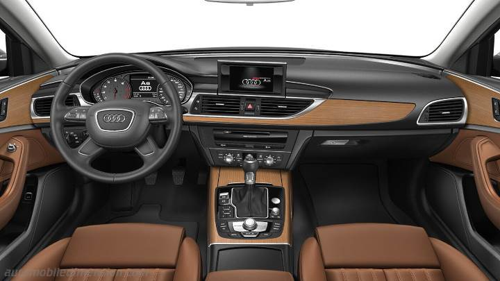 Audi A6 2015 Dashboard Zoom