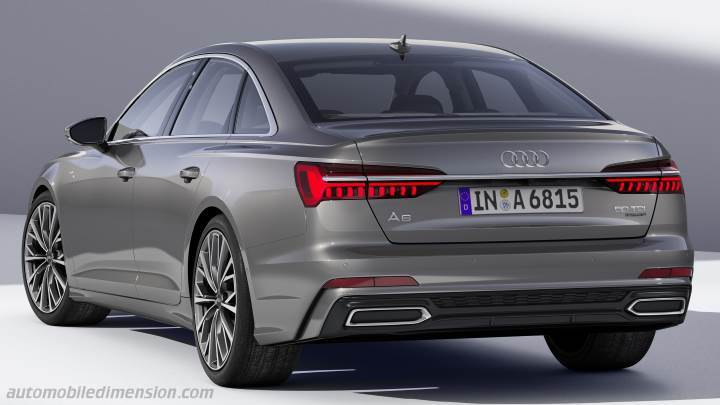 audi a6 2018 dimensions boot space and interior. Black Bedroom Furniture Sets. Home Design Ideas