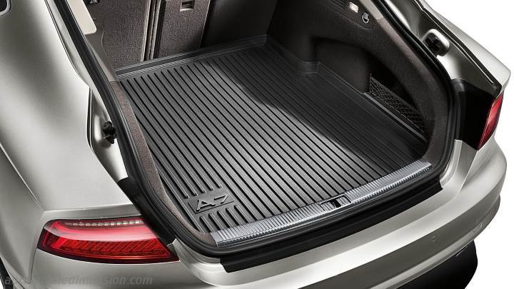 Audi A7 Sportback 2014 Dimensions Boot Space And Interior