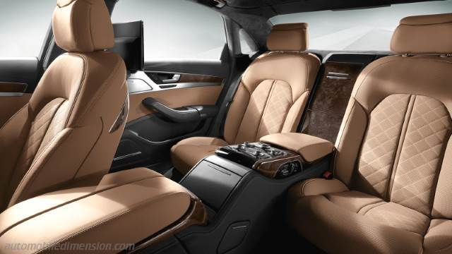 Audi A8 L 2014 Dimensions Boot Space And Interior