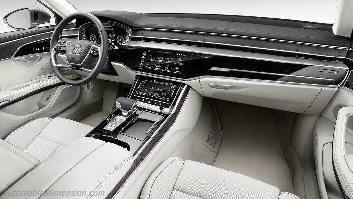 Audi A L Dimensions Boot Space And Interior - Audi a8l