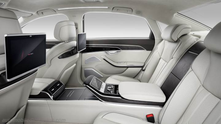 Audi A8 L 2018 Dimensions Boot Space And Interior