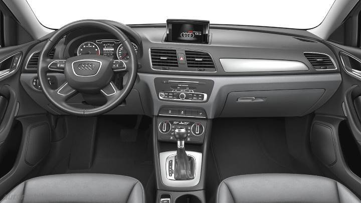 Dimensions audi q3 2015 coffre et int rieur for Interieur q3