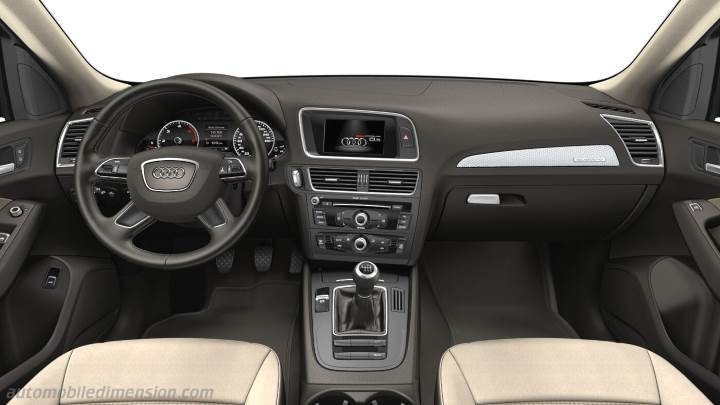 audi q5 2012 dimensions boot space and interior. Black Bedroom Furniture Sets. Home Design Ideas