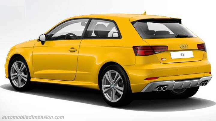 audi s3 2016 dimensions boot space and interior. Black Bedroom Furniture Sets. Home Design Ideas