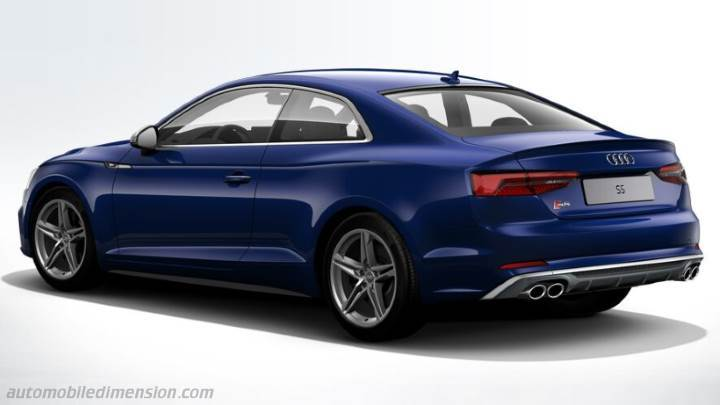 audi s5 2016 dimensions boot space and interior. Black Bedroom Furniture Sets. Home Design Ideas