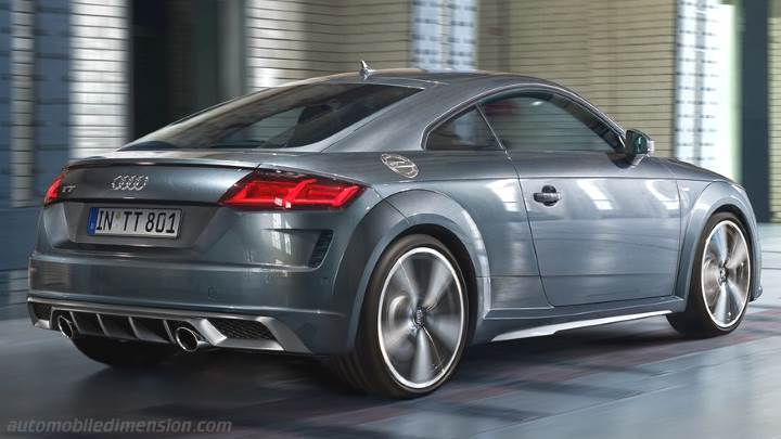 Audi TT Coupe 2019 kofferbak