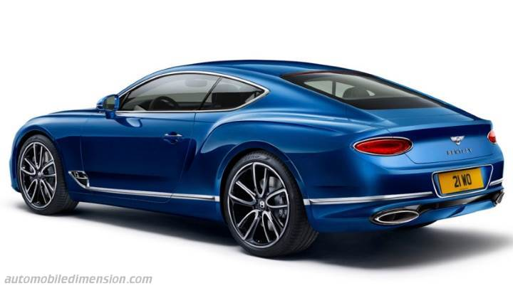 Coffre Bentley Continental GT 2018