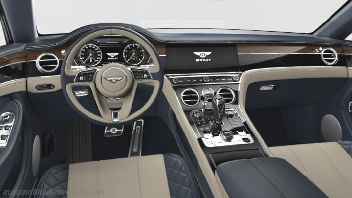 Bentley Continental GT 2018 dimensions, boot space and ...