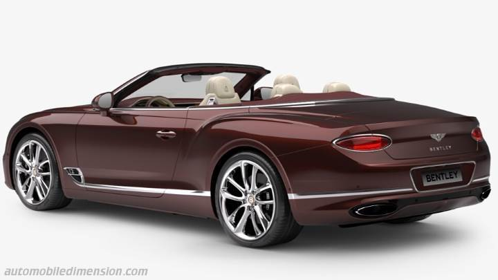 Coffre Bentley Continental GT Convertible 2019