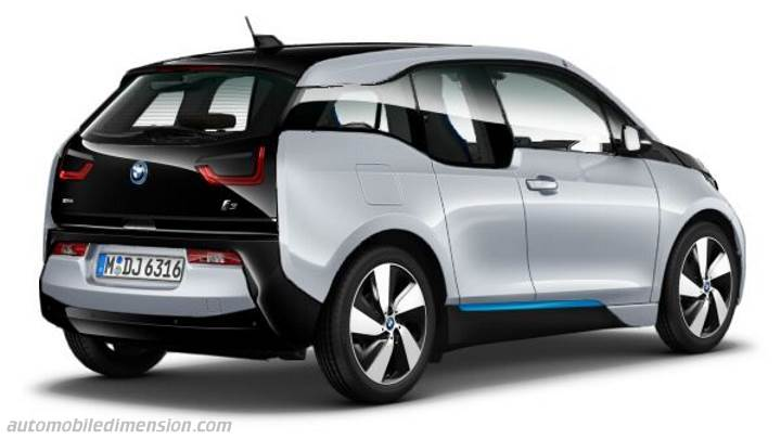 bmw i3 2013 dimensions boot space and interior. Black Bedroom Furniture Sets. Home Design Ideas
