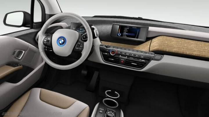 dimensions bmw i3 2013 coffre et int rieur. Black Bedroom Furniture Sets. Home Design Ideas