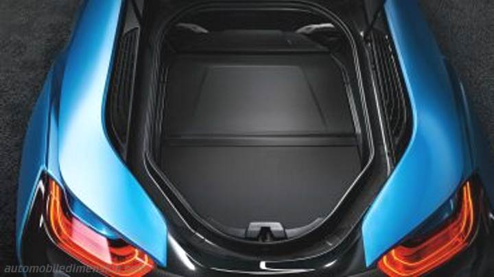 Bmw I8 2014 Dimensions Boot Space And Interior