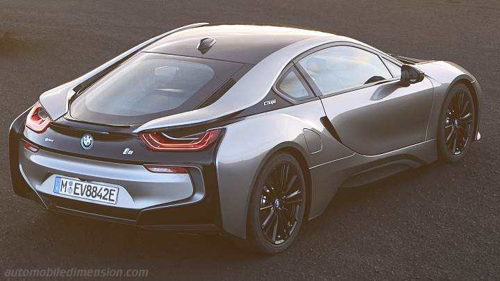 Bmw I8 Coupe 2018 Dimensions Boot Space And Interior