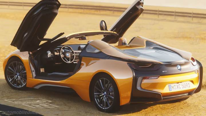 Coffre BMW i8 Roadster 2018